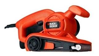 Lijadora De Banda Black Decker Madera Br318 680 Watts