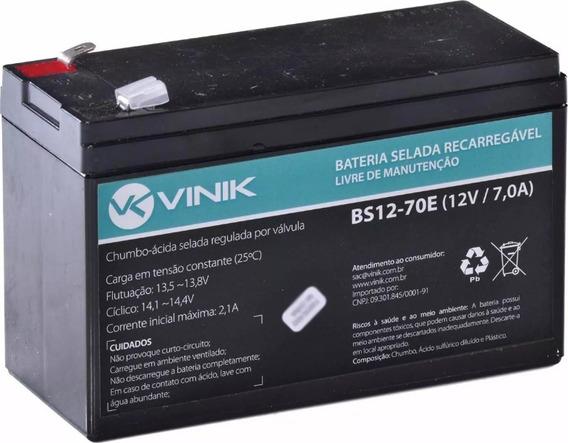 Bateria Para Nobreak 12v 7a Nota Fiscal Eletronica