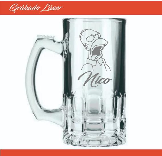 Vasos Vidrio X 12u Personalizado Vaso Chopp Cerveza 375ml