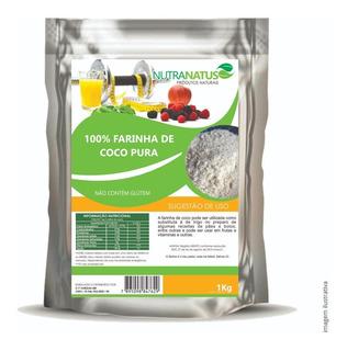 Farinha De Coco Pura E 100% Natural 1kg Promoção