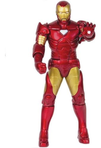 Boneco Articulado Homem De Ferro Marvel Avengers 45cm