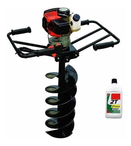 Imagen 1 de 5 de Hoyadora Naftera 2 Hombres Niwa 63cc Incluye Mecha Barreno 300mm + Aceite 2t Uso Profesional