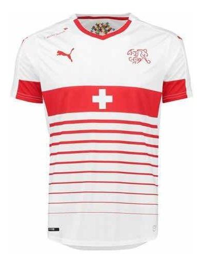 Camiseta Suiza Puma Talle S ( Es Para Niños Altura Aprox 1,76)