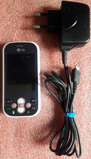 Celular Desbloqueado Lg Gt360 Rosa Com Defeito