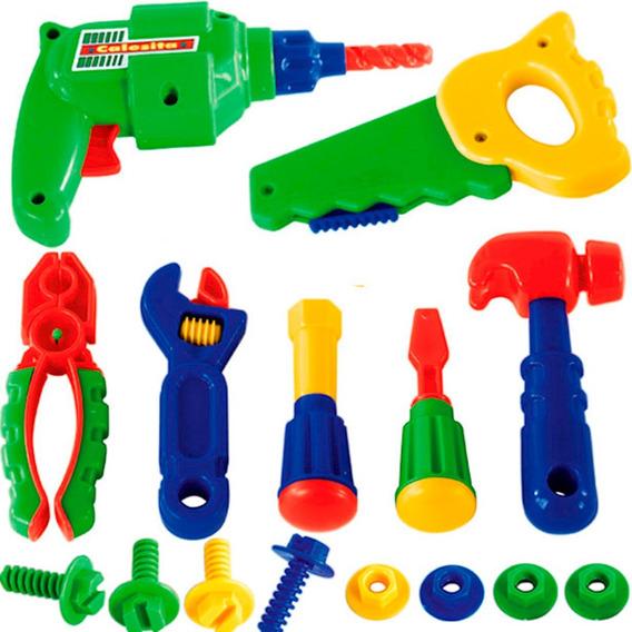 Kit Ferramentas Infantil Calesita Brinquedos E Hobbies No