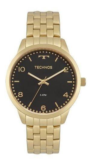 Relógio Feminino Elegance Dourado Technos 2035mpj/4p