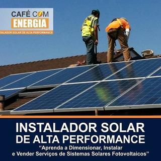 Curso Instalador De Energia Solar