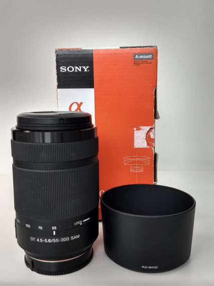 Lente Sony Dt 55-300mm F4.5-5.6 Sam Sal55300 Lente A-mount