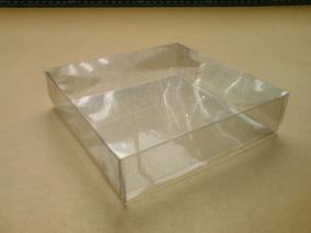 50 Cajas De Acetato 10x10x2.5 Cms.p/ensamblar Envio Incluido
