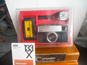 Antiga E Rara Câmera Fotográfica Kodak 133 - X (completa )