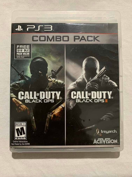 Call Of Duty Combo Pack Black Ops I E Ii Playstation 3 Ps3