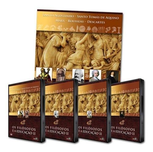 Imagem 1 de 1 de Box Dvd Os Filósofos E A Educação 2