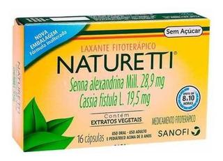 Naturetti 16 Cápsulas Regulador Intestinal Prisão De Ventre