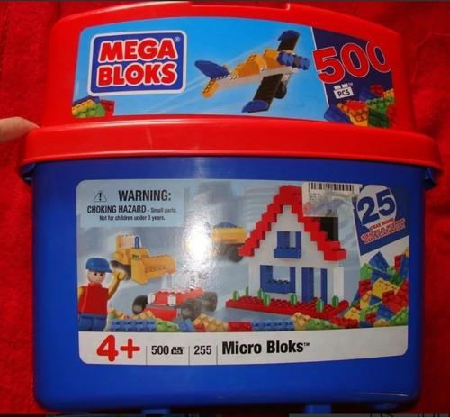 Legos Mega Bloks 500 Piezas. Oferta