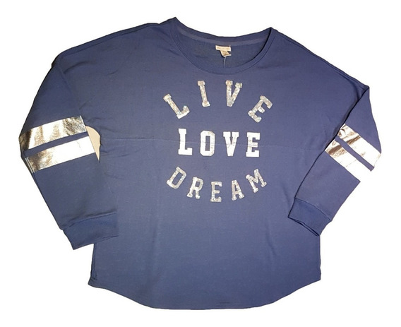 Buzo Aéropostale Live Love Dream Sweatshirt Talle Xl