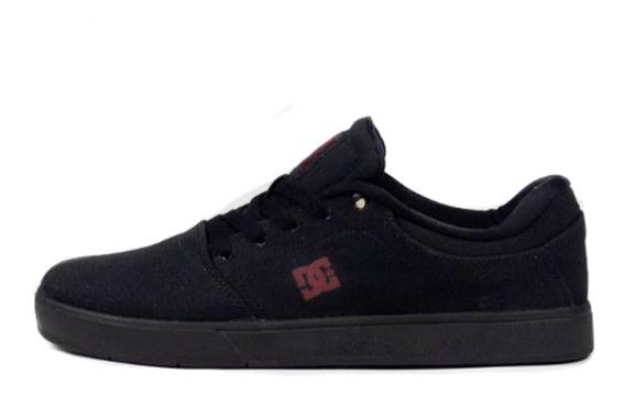 Tênis Skate Dc Shoes Crisis Tx La Black/dark Grey Original