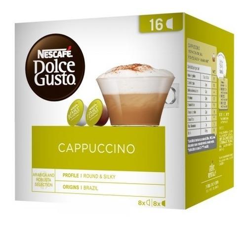 Capsulas Dolce Gusto Café Capuccino Nescafe X16 Hiperofertas