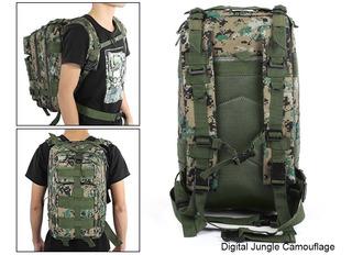 Mochila Backpack Militar Táctica Estilo Camuflajeado