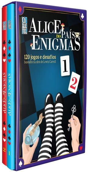 Caixa Alice No País Dos Enigmas Lewis Carroll Frete Grátis