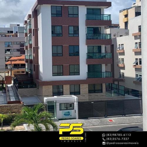 Apartamento Com 1 Dormitório À Venda, 36 M² Por R$ 258.128,00 - Intermares - Cabedelo/pb - Ap4250