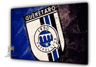 Cuadro Decorativo Gallos Blancos Queretaro 86x56cm Fútbol