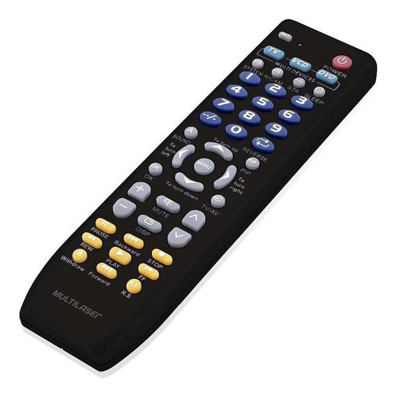 Controle Remoto Universal 3 Em 1 Tv Dvd/vcd Preto Ac088