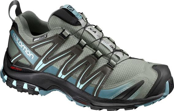 Zapatillas Mujer Salomon - Xa Pro 3d Cs Wp - Trail Running