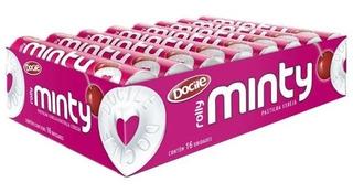 Pastilha Rolly Minty Cereja C/ 16u X 29g - Docile