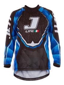 Camisa Motocross Trilha Enduro Pro Tork Jett Lite Azul