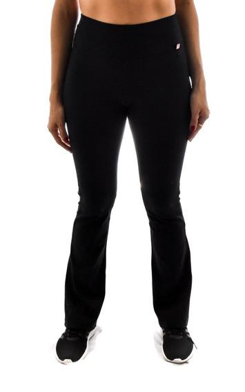 Calça Flare Básica Fitness Feminino Moda