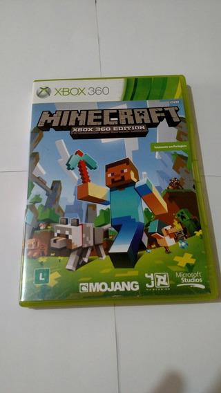 Minecraft Xbox 360 Edition Usado Original Mídia Física