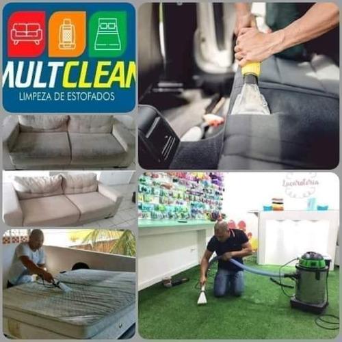 Imagem 1 de 2 de Lavagem E Higienização De Estofados & Carpetes.