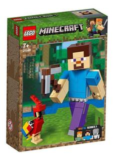 Bigfig Minecraft Steve Con Loro