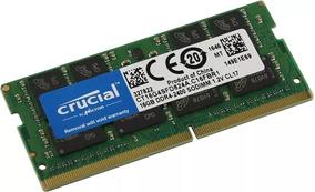 Memória Ddr4 Crucial 2400mhz 16gb 1x16gb Notebook Laptop