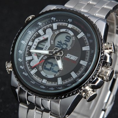 Relógio Skmei 0993 Double Time Men Quartz Digital Watch 3