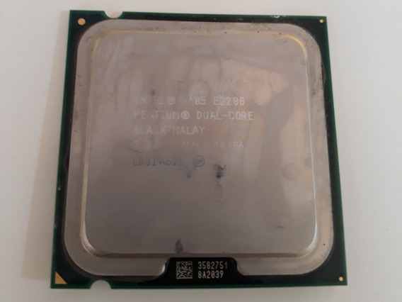 Processador Pentium Dual Core E2200 Sla8x 2.20ghz 1mb Lga775