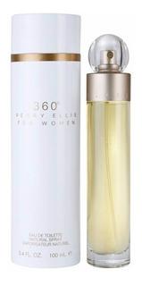 Perfume 360° For Women Perry Ellis Dama Importado 100 Ml