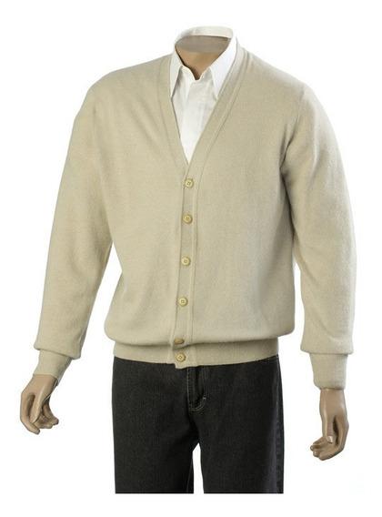 Sweater Premium Angora En V Cardigan Rombos Redondo Consulte