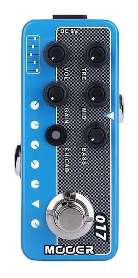 Pedal Pré-amp Mooer M017 Cali Mkiv Emula Mesa Boogie