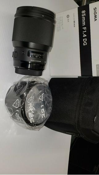 Lente Sigma 85mm 1.4 Dg Hsm Art Nikon