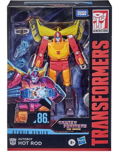 Transformers Hot Rod 17cm - Movie Studio Series 86 - Hasbro