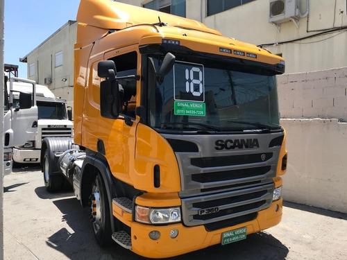 Scania P 360 G 420 G360 P 340 R 420 Toco 4x2 2018 Cavalo