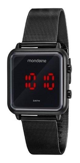 Relógio Mondaine Feminino Digital Preto 32008mpmvpe3