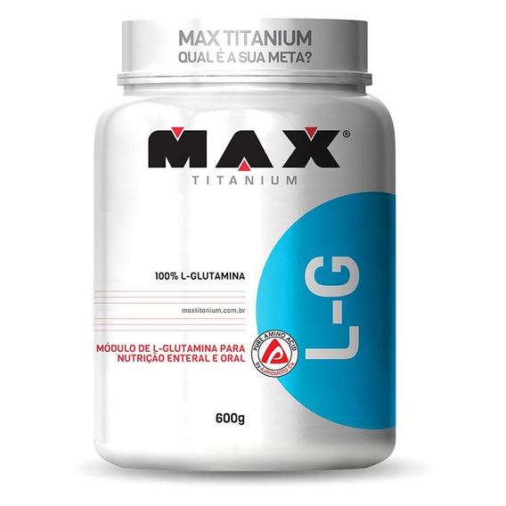 L-g Glutamina (600g) Max Titanium