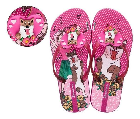 Chinelo Infantil Feminino Ipanema Pet Mania 26420 Promoção
