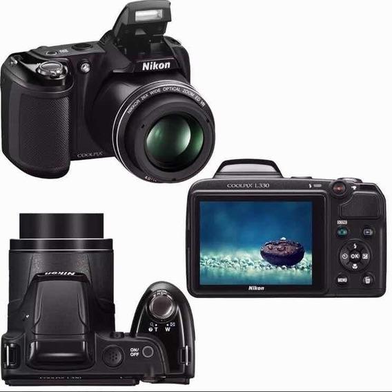 Câmera Nikon Semi Profissional Coolpix L330