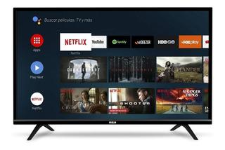 Smart Tv Led 40 Rca Android Tv Control Voice Netflix Cuotas