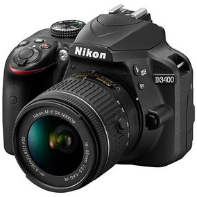 Câmera Digital Nikon Coolpix D3400 24.2mp 3.0