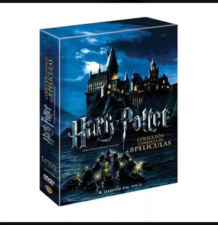Harry Potter Colección Completa De 8 Peliculas