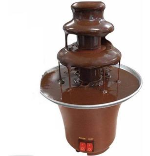 Máquina Fondue Profissional Chocolate Fonte Cascata Elétrica